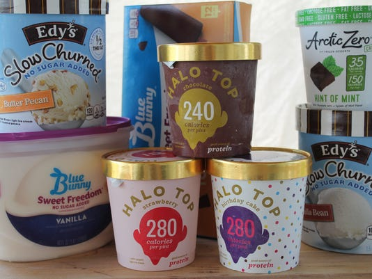 Halo Top And Edys Ice Cream High On Flavor Low Calories Carbs