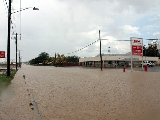 Alamogordo flooding 1