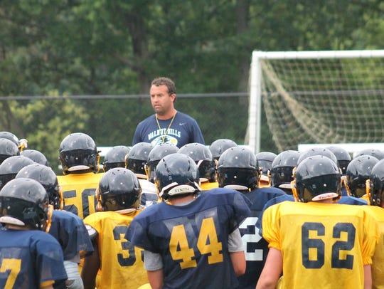 New Walnut Hills coach Gerry Beauchamp lays down the