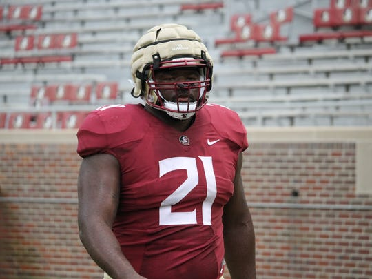 FSU defensive tackle Marvin Wilson