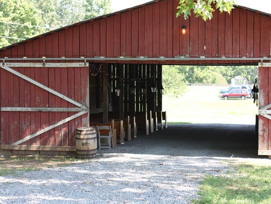 The Red Barn is the oldest on the property and can