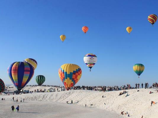 White Sands Balloon Invitational file photo 1