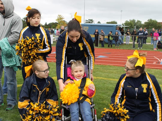 "Victory Day is an event set up for cognitively and physically impaired children to have an opportunity to play football or cheer and have their ""moment in the sun."""