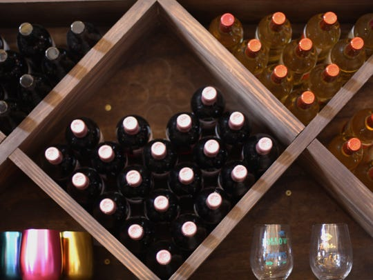 The Winery at Seven Springs Farm produces seven types
