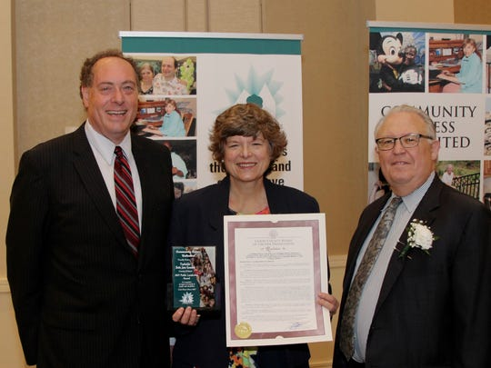 Community Access Unlimited honored Union County Freeholder