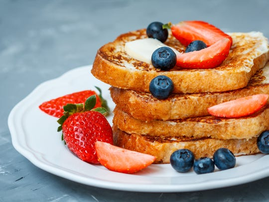 Eating French toast at night may seem like comfort food, but if you usually eat it for breakfast, you can mislead your body into thinking it's morning.