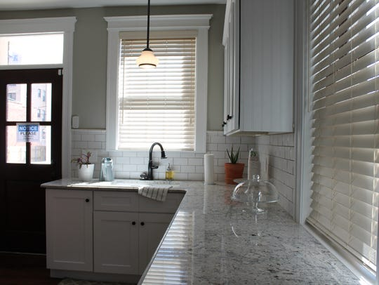 The completed kitchen at 149 Virginia Park Street.