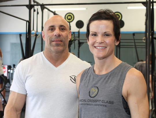 Rob DelaCruz and Wendy Shafranski, owners of Vero Strength