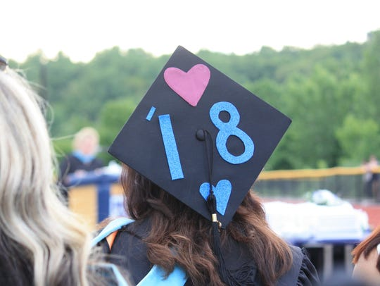 Putnam Valley High School's class of 2018 celebrated