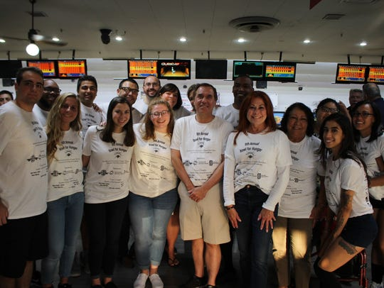 "The 9th Annual ""Bowl for Hunger"" on Thursday, July"