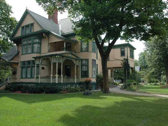 The Oliver Inn in South Bend has 8 rooms and a carriage house available for guests.