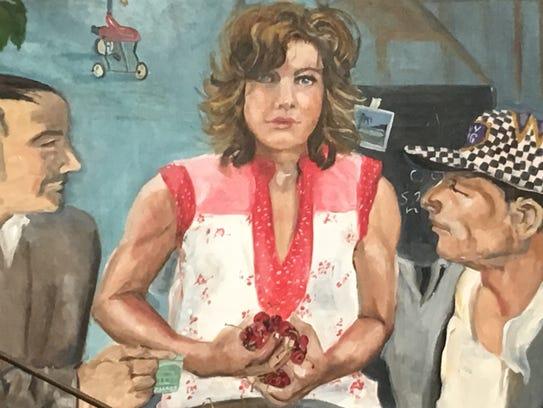 Artist Sue Nichols, who helps her husband Bob run the