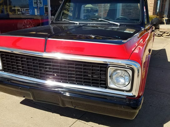 This 1972 custom Chevy pickup will be the grand prizes