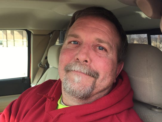 Tim Krueger of West Des Moines, who commutes daily