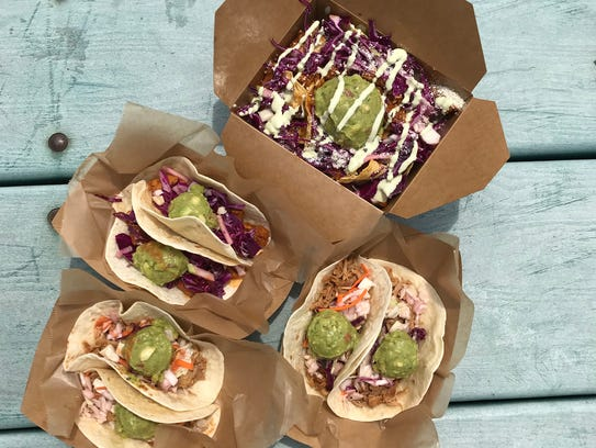 A roundup of tacos and nachos from The Guac Spot.