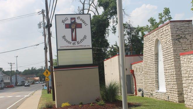 Full Gospel House of Refuge is opening at the site of the former Deja Vu strip club in Mt. Carmel.