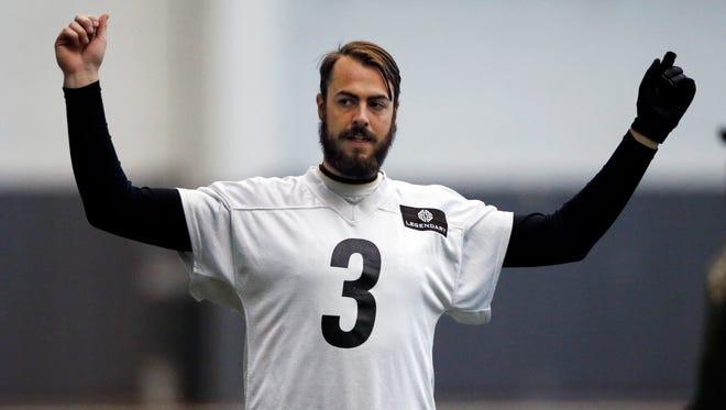 Landry Jones may be the Pittsburgh Steelers' starting quarterback this weekend vs. the Denver. Broncos.
