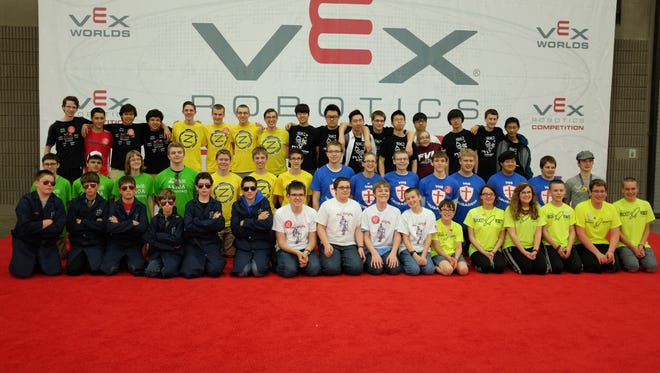 VEX Robotics teams from Wisconsin who participated in the World Championships include Wrightstown, Valley Home Schoolers, Freedom, Fond du Lac, Xavier High School, St. Mary Catholic High School and Fox Valley Lutheran High School