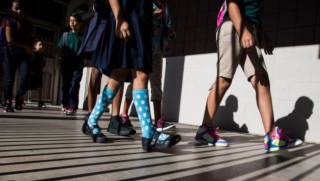 Latinos students represent 46% of the student population in Arizona's K-12 schools.