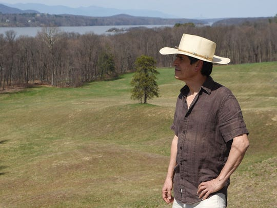 Nestor Madalengoitia of the City of Poughkeepsie, pictured at the Vanderbilt Mansion National Historic Site in Hyde Park.