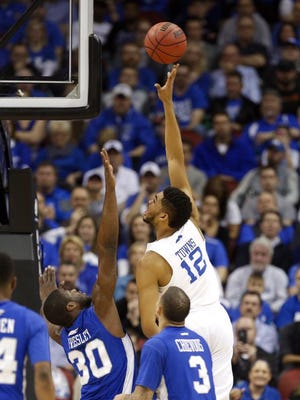 UK used its size early, scoring often in the paint Thursday night against Hampton.