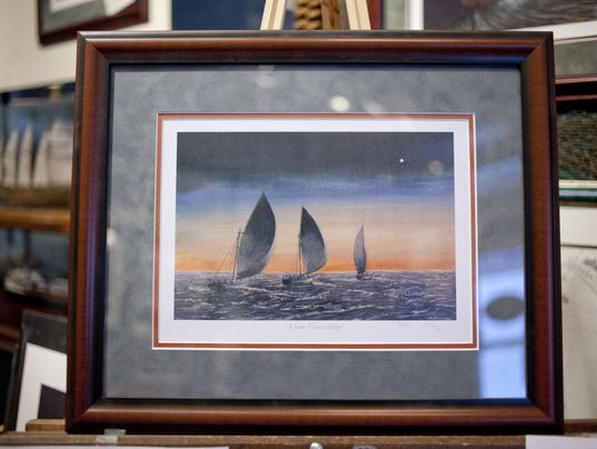 Artist donates prints to aid Salvation Army