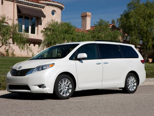Toyota Sienna recalled to fix sliding doors