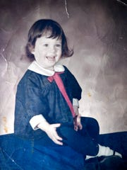 A store-made portrait of author Sherrylin Kenyon when she was about 3 years old Friday June 15, 2018, in Franklin, Tenn.