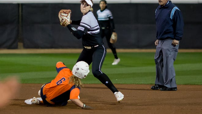 New Mexico State infielder Kelsey Horton was named the preseason Western Athletic Conference Player of the Year. NMSU was picked second behind Grand Canyon by league coaches.