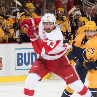 Wings welcome back Helm's speed, competitiveness