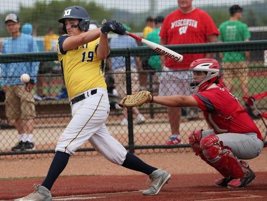 Pius catcher Gino D'Alessio was batting .540 with 24 RBI through Thursday.