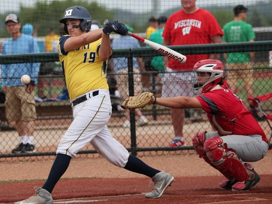 Pius catcher Gino D'Alessio was batting .540 with 24 RBI through Thursday.