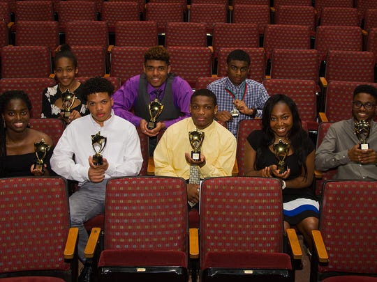 Local high school students were honored for their achievements.