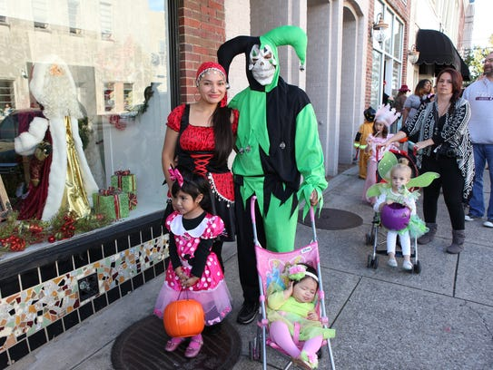 Trick or treating on the Square will be held Tuesday.