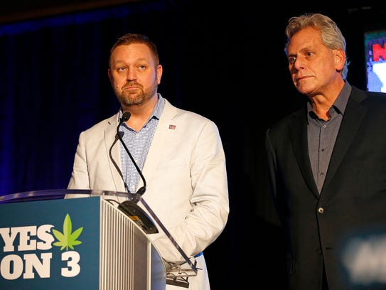 Ian James, executive director of ResponsibleOhio, and