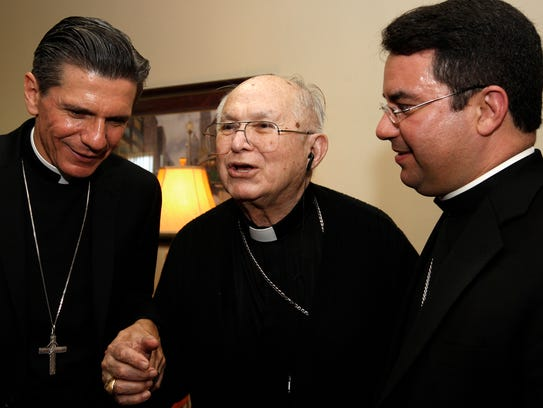 In this Oct. 14, 2010, file photo, the Most Rev. Archbishop