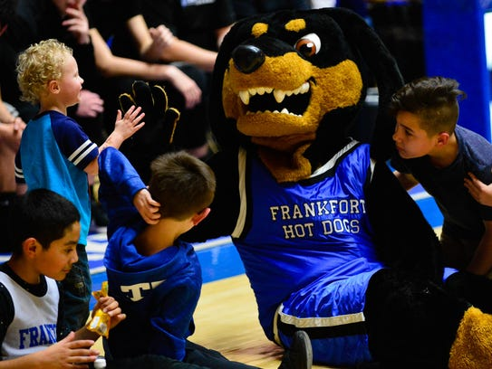 So how did Frankfort get its nickname: the Hot Dogs?
