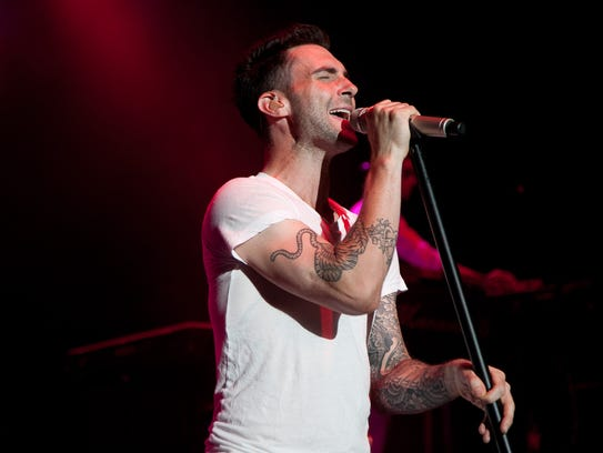 2011: Adam Levine and Maroon 5 at the Iowa State Fair