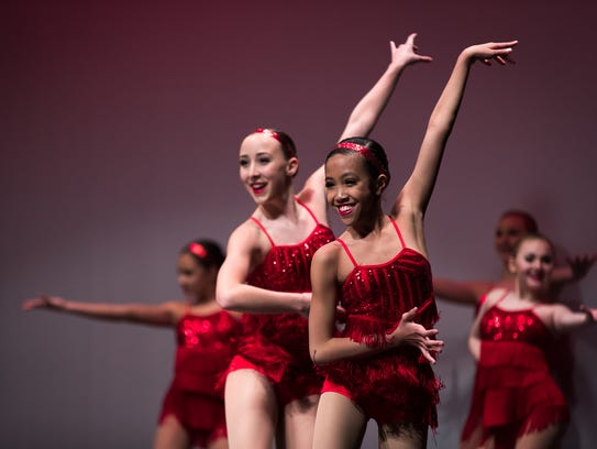 The Hanover School of Ballet performs during the 8th annual Hanover Has Talent Show on Saturday at the Eichelberger Performing Arts center.