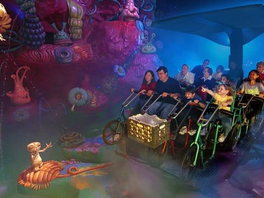 """""""E.T."""" the ride"""
