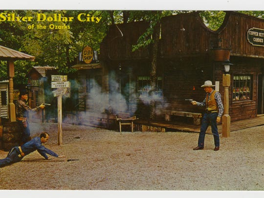 Silver Dollar City 1970s postcard
