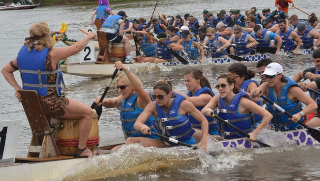 The Louisiana Dragon Boat Races will be held May 7 at Lake Buhlow in Pineville. They had been scheduled for the Red River, but river conditions make it unsafe to hold the races there.