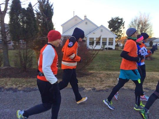 Paulsboro's Jim Schissler, who will run 121 miles this