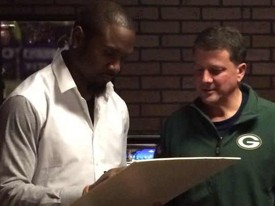 Former Green Bay Packers cornerback Charles Woodson