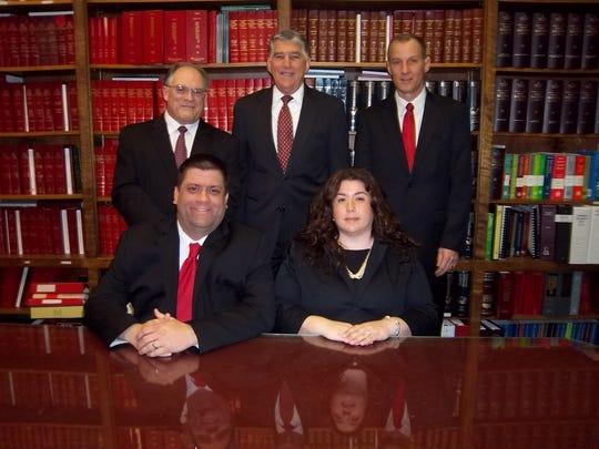 Gebhardt & Kiefer attorneys, top left to right, John