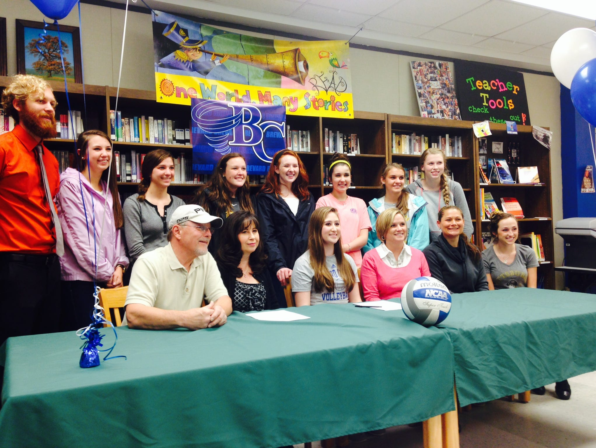 Reynolds senior Catherine Goss has signed to play volleyball for Brevard College.