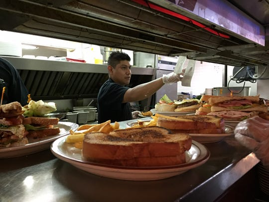 Jime Perez spent 14 years as a line cook at Bill Johnson's.