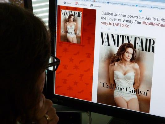 Caitlyn Jenner's Vanity Fair cover, shot by Annie Leibovitz
