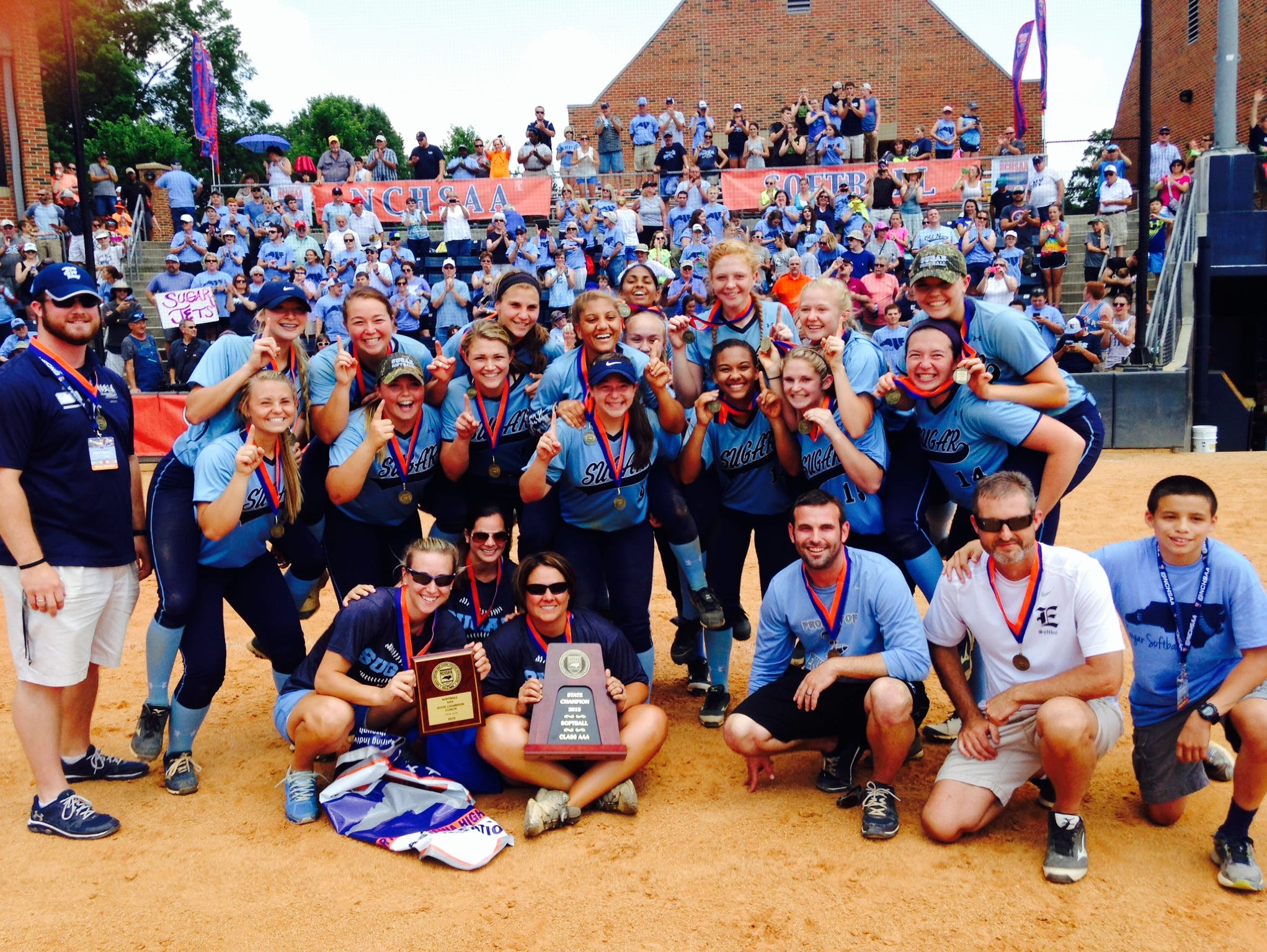 Enka won the NCHSAA 3-A softball championship on June 6 in Greensboro.