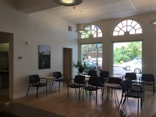 Inside the medical marijuana dispensary in Minneapolis run by Minnesota Medical Solutions, an affiliate of Empire State Health Solutions.